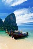 Tropical landscape. Railay Beach. Thailand Stock Photos