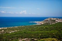 Seashore in Tunis royalty free stock image