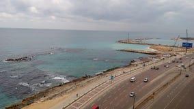 Seashore w Aleksandria Fotografia Royalty Free