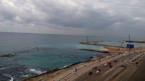 Seashore w Aleksandria Zdjęcie Stock