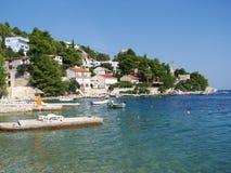Seashore w Chorwacja Fotografia Royalty Free
