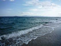 Seashore w Halkidiki Zdjęcia Royalty Free