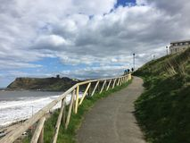 Seashore widok Zdjęcie Stock