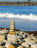 Seashore zen Royalty Free Stock Photo