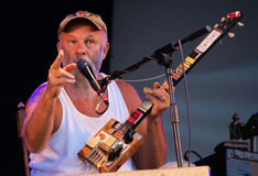 Seasick Steve Royalty Free Stock Photography