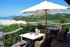 Seaside Accommodation Royalty Free Stock Images
