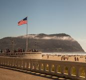 Seaside Americana summer's day Stock Image