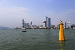 Seaside of amoy city Royalty Free Stock Photography