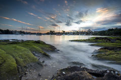Seaside around Sydney. Royalty Free Stock Photography