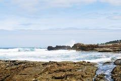 Seaside of Atlantic ocean in Costa da Morte, Spain Stock Photo