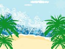 Seaside background Royalty Free Stock Photography
