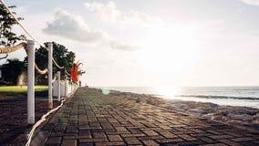 Seaside Bali. Seaside while sunset in Bali Indonesia Stock Images