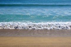 Seaside beach background Stock Photography