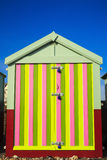Seaside beach hut Stock Photography
