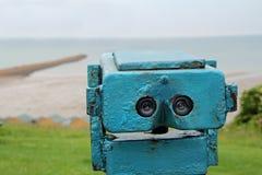 Seaside binoculars Royalty Free Stock Image