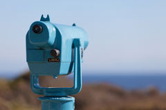 Seaside binoculars Stock Image