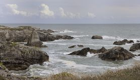 Seaside of Brittany Royalty Free Stock Photography
