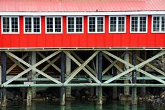 Seaside building Royalty Free Stock Photography