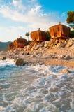Seaside Bungalows in Turkey, Fethiye Stock Image