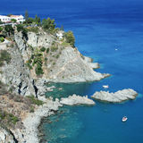 Seaside in calabria Royalty Free Stock Photo