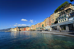 Seaside in Camogli Royalty Free Stock Images
