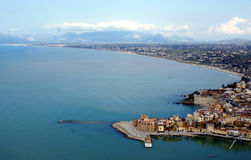 Seaside Castellamare del Golfo Royalty Free Stock Photo