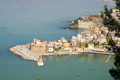 Seaside Castellamare del Golfo Stock Photography