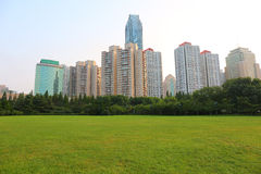 Seaside Chinese city, Qingdao. Where Tsingtao beer was made stock image