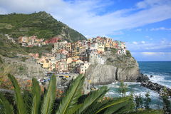 Seaside in Cinque Terre, Italy Royalty Free Stock Photos