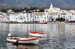 Seaside city Cadaques, Catalonia, Spain Stock Photo