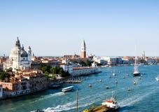 Seaside city Venice Royalty Free Stock Photos