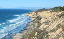 Seaside Cliff Stock Image