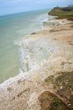 Seaside cliffs. Beautiful landscape in the summer Stock Image