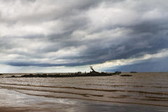 Seaside clouds Royalty Free Stock Photos
