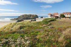 Seaside cottage Stock Image