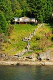 Seaside cottage royalty free stock image