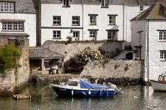 Seaside cottages, Cornwall Royalty Free Stock Photography