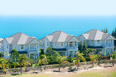 Seaside cottages Royalty Free Stock Photo