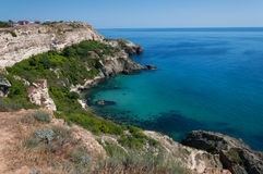 Seaside in the Crimea. Foros Cape Royalty Free Stock Images