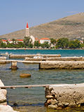 Seaside Croatia. Royalty Free Stock Photo