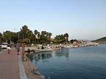 Seaside in Datca, Turkey Royalty Free Stock Images