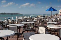 Seaside Dining royalty free stock image