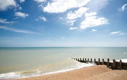Seaside of eastbourne,uk. Shoot in UK, eastbourne, near White Cliffs Royalty Free Stock Photos