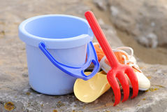 Seaside Equipment royalty free stock photo