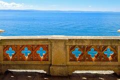 Seaside fence Royalty Free Stock Photo