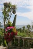 Seaside garden Stock Images