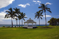 Seaside Gazebo Stock Images
