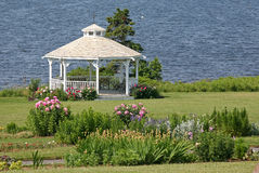 Seaside Gazebo Royalty Free Stock Image