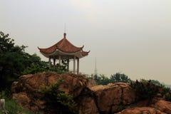 Seaside gazebo. Qingdao, a seaside gazebo , very simple, but very old Stock Images