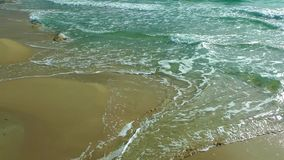 Seaside and Golden Sand. Video stock footage